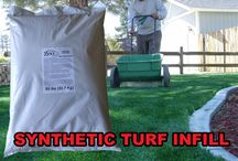 """Artificial Grass Deodorizer / Voted """"Best"""" Infill for Odor Control & Playgrounds by the leading turf manufacturers. The only organic infill that helps eliminate urine odor in synthetic turf & cools turf fibers             by evapotranspiration."""