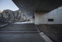 Ar. La. / Arquitectura en paisaje natural.