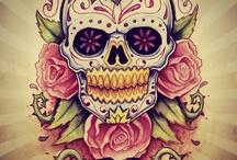 Mexicans skulls tatoos