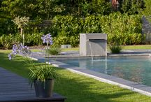 Water Features - Pool / What could be better than an interesting water feature in a great pool/landscape design? One in a BIOTOP Natural Pool. #chemicalfree swimming for the whole family.