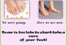 Feet care / Make your feet happy!  www.problematicstinkyfeet.com