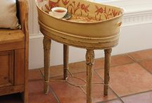 Flea Market Decor / Turning flea market finds into fabulous projects for the home.