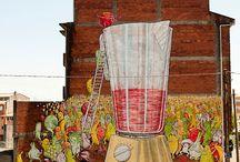 studio art mural