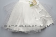 Flower girl dresses and First Holy Communion