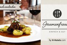 Gaumenfreund by H-Hotels.com / Klassische Rezepte zum nachkochen