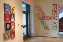 Prism.K12 student exhibition at The Phillips Collection / See works of art, displayed in the Phillips galleries, by students at our partner schools working with arts integration and Prism.K12 in the classroom!