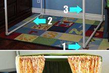 muebles y juguetes de PVC
