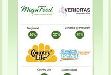 Monthly Ads / Sales on healthy living products at Mastel's Health Foods