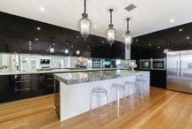 Kitchen Design Ideas / Kitchen design ideas for new homes including storage ideas for a fully functional kitchen