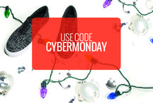 #CyberMonday / Use code CYBERMONDAY for 30% off all things BucketFeet, today only.  / by BucketFeet