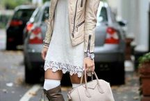 lingerie dress streetstyle