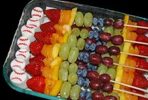 Snack ideas for sporting events / by Jennifer Daly