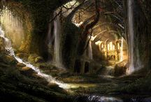 Fantasy Landscape / The wonderful world of landscape from the boundless imaginings of Fantasy.