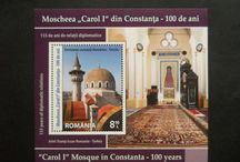 Mosques on stamps and coins