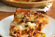 pizza / by Sheila Saul