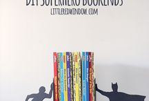 Bookshelf/ends