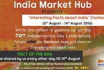 Independence Day / #IndependenceDay Creative Contests by #IndiaMarketHub Participate and win exciting prizes.