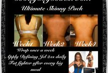 It works body wraps / Go to Bodybybinx.com and get your body wraps on and start loosing that back fat