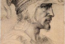 Michał Anioł - rysunki