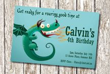 How to train your dragon birthday ideas / by Janine Botes