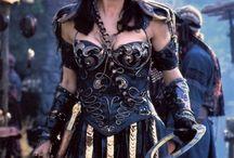 woman armor