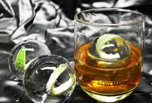 Ice Spheres / Check out our amazing Ice Spheres! Perfect for high end events. They dress up and chill your glass of wine or whiskey without watering it down!