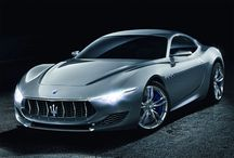 Maserati Concept Cars / Elegant and sporty - even if it is just a Maserati concept car, it is still made with pride.