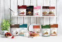 Sukrin Producten / Vind hier al onze heerlijke Sukrin producten. Allen 100% glutenvrij, natuurlijk en calorie en koolhydraatarm!