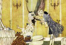 Edmond Dulac, illustrator, fairy tales