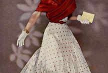 vintage fashion / mode van toen
