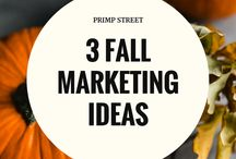 Autumn / Fall Business Ideas