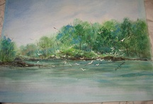 New Jersey Shore Art / Artwork from and depicting the Jersey Shore. Favorite Artists: Julie Ratushny