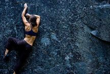 Rock Climbing Girls / Motivation for girls who love to rock climb! Check out: http://www.dragonwinggirl.com - a line of comfortable, high performance sports wear for girls who love to rock climb and play other sports!