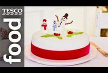 Make a Christmas cake