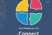 World Thinking Day / Resources to help troops celebrate World Thinking Day on February 22.