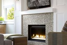 Fireplace and tile ideas