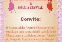 Espaço Aisha Aranda & Shalla Crystal