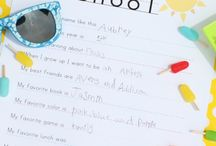 Printables for Kids / Printable Ideas for Children