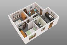Decoração de casas / modelos de casa e como você pode decora sua casa