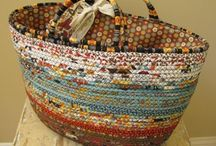 rope bags/baskets