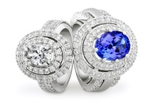 My Shine With Jenna Clifford / Engagement and dress rings set with oval stones
