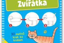 Knihovna - Kreslení pro Děti / Kreslení pro Děti - Knižní Inspirace. Drawing for kids - books inspirations.
