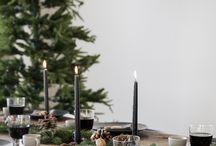 juleborddækning