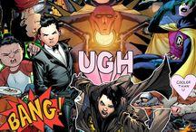 DC&Marvel: Art&Inf