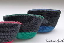 Crochet Zipper Pouch / by HandmadeByKR