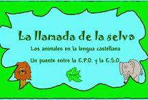 Secundaria Lengua y Literatura / Juegos, actividades interactivas y materiales didácticos para el aprendizaje de Lengua Castellana y Literatura en Educación Secundaria.