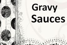 GRAVY SAUCES / EASY to make Demi Glace, Espagnol, Proivade, Chicken Beef Turkey or Pork Gravy,  White or Clear sauce, Chinese Brown Sauce http://doreenskitchen.com/SAUCESGRAVIES.html