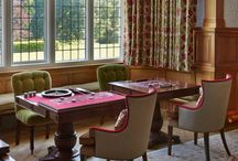 The Overbury Games Tables / Games tables inspired by the Arts and Crafts movement. Celebrating craftsmanship and housing a host of different board  games.
