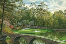 Augusta National Golf Art Paintings