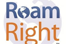 RoamRight Fun / Travel insurance provider RoamRight wants to know where you've seen our logo...pin it here!